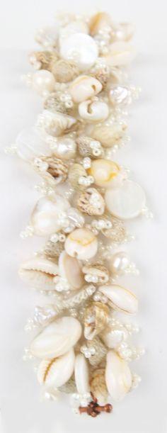 Beach Side Bride Hand Woven Bracelet by kathrynwelsh on Etsy, $134.00