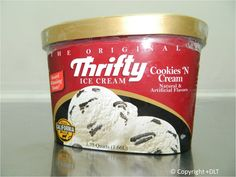 Cookies n' Cream - Thrifty Ice Cream Flavor