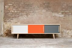 Meuble tv on pinterest tv totems and tv tables - Meuble tv vintage scandinave ...