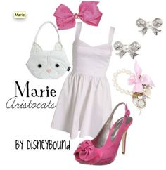 . disney outfits, the aristocats, purs, inspired outfits, mari, shoe, disney characters, disney costumes, disney fashion