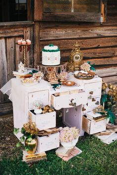 whimsical sweets table // photo by Simply Sarah Photography