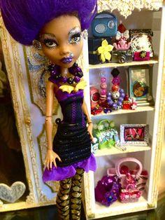 "Monster High Clothes Clawdeen Wolf ""Purple Rayne"" | eBay"