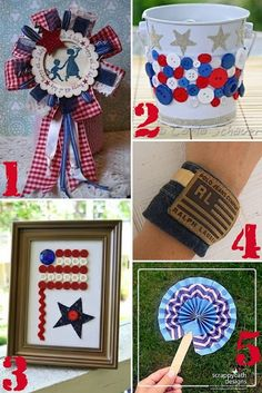 4th of july RECYCLE Crafts
