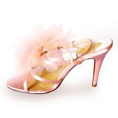 Pink Christian Louboutin Petal Sandals £73.00