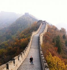 #PinUpLive The Great Wall of China - Has anyone been? I heard that there are actually bodies buried in the walls.