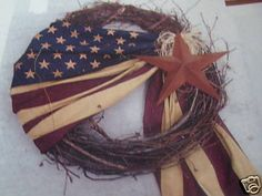Image detail for -July 4th Patriotic Primitive Decorations | Primitive Home Decorations