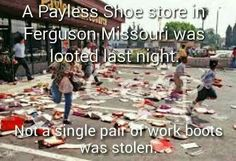 ....no work boots were stolen, that doesn't surprise me......