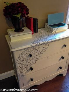 Fern Avenue: Pine Dresser makeover