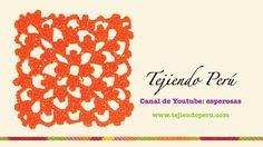 Punto fantasía en crochet # 18: tejiendo en cuadrado