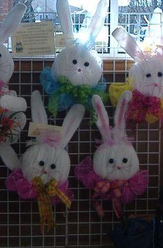 Cute mesh bunnies