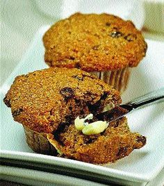 The trick for making moist bran muffins