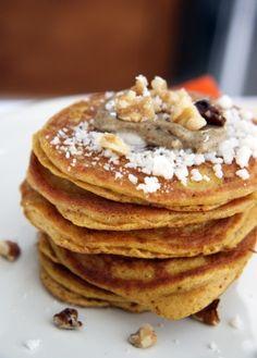 *Gluten Free Pumpkin Pancakes