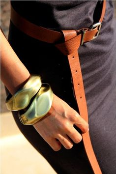 knotted belt...intriguing idea...