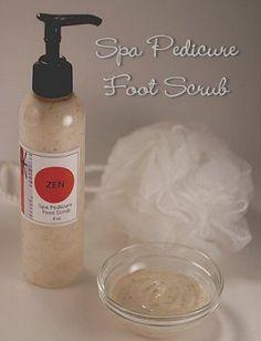 rejuvenating foot scrub
