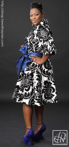 Tawni Haynes Trench Dress with additional belts in the color of your choice! Order @ shop.tawnihaynes.com or call 972-754-5096.