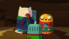 Adventure Time! Happy Holidays. :)