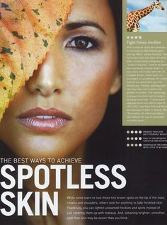 Tapia Beauty in New Beauty Magazine