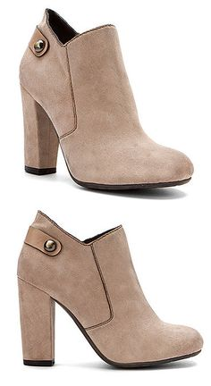Nude Ankle Booties <3 L.O.V.E.