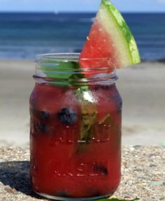 Watermelon Tequila Cocktails #recipe #summer #entertaining