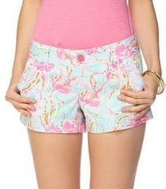 Lilly Pulitzer Walsh Printed Short in Jellies Be Jammin