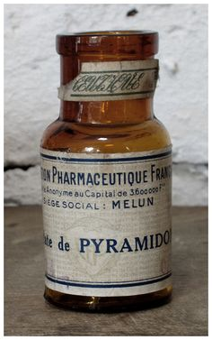Antique French Apothecary Bottle