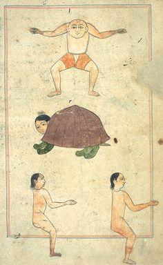 minyatür sanatı, thing exist, anim illustr, mediev manuscript