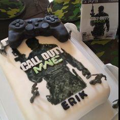 Call of Duty cake (www.dlcakes.biz)