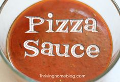 Pizza Sauce Recipe - Thriving Home