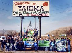 12th Man spirit for the Seattle Seahawks game