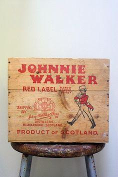 Johnnie Walker Red Label Scotch Whiskey by mysweetsavannah on Etsy, $43.00 johnny walker, johnnie walker, walker red, johnni walker