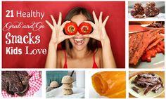 "21 Healthy ""Grab And Go"" Snacks Your Kids Will LOVE | The MommypotamusThe Mommypotamus |"