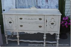 ASCP Old White Buffet