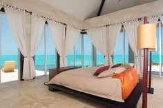 The ultimate bedroom, Turks and Caicos