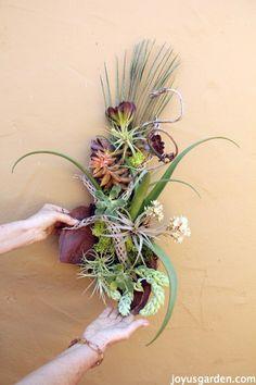 DIY Succulent Wall Art