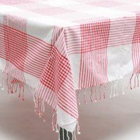 pretty table cloth