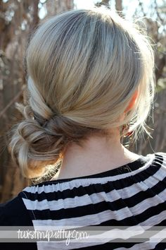 How-to: Topsy Tail Revisited: Messy Bun | Twist Me Pretty [Video]
