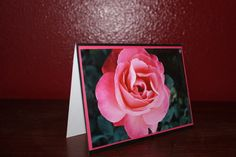 Electron Rose handmade 4 x 6 photo greeting card by AnLieDesigns, $4.00