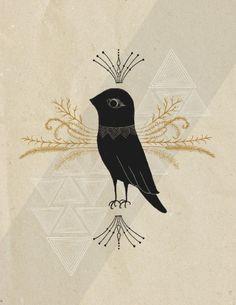 Black Bird by R. Phillips.