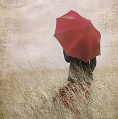 red umbrella  @Jenn L Milsaps L Milsaps