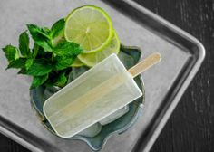 Mojito popsicles? Yes please!