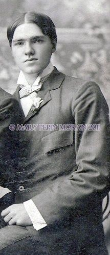 James Henderson Moran III, taken about 1895.  Dresden Tennessee