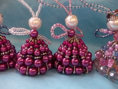 Make Angel Christmas Ornaments | angel ornaments to make | ... beads host of christmas angels these ...