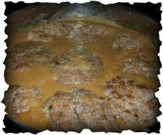 homemade Hamburger Salisbury Steak