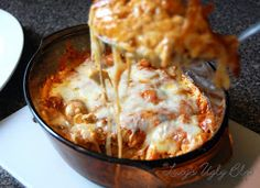 Lucy's Diabetic Friendly Low Carb Meals: Chicken Enchilada Casserole