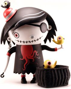 Scary girl - octocity Scarygirl by Nathan Jurevici... | Trampt Library
