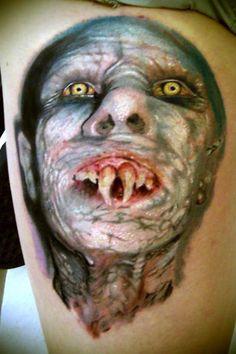 tattoo, portrait