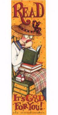 Mary Engelbreit Bookmarks.