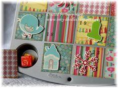 Creative way to make an advent calendar!