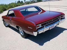 1966 Chevrolet Chevelle SS 396 back