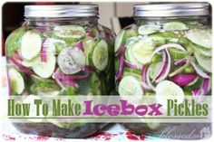 Icebox Pickles